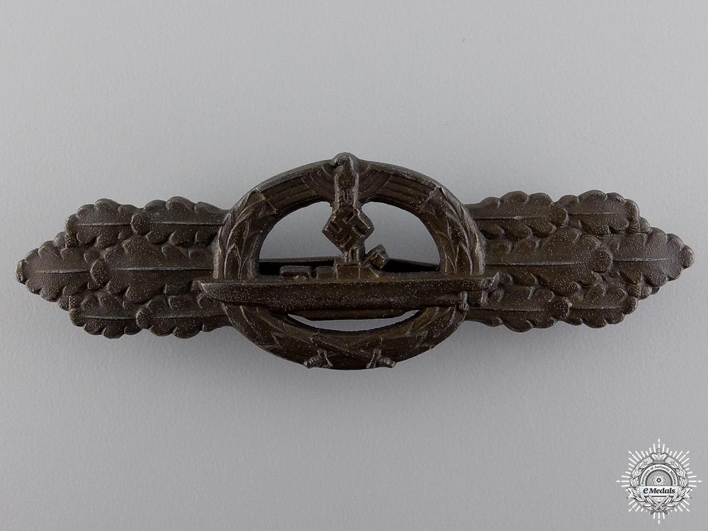 eMedals-A Bronze Grade Submarine Clasp by Schwerin, Berlin