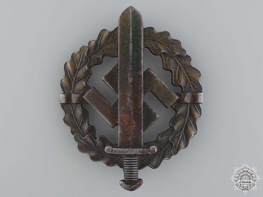 eMedals-A Bronze Grade SA Sports Badge by Sieper & sohn