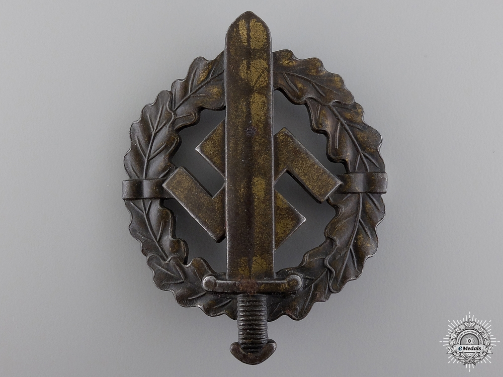 eMedals-A Bronze Grade SA Defense Badge
