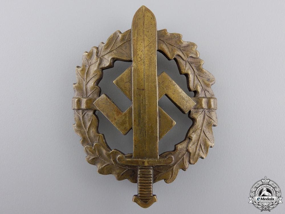 eMedals-A Bronze Grade Sports Badge by Bonner Kunstabz