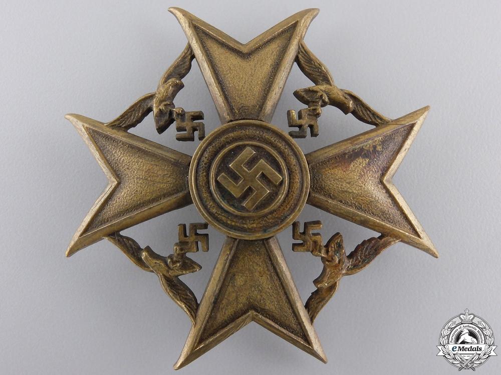 eMedals-A Bronze Grade Spanish Cross by Junker