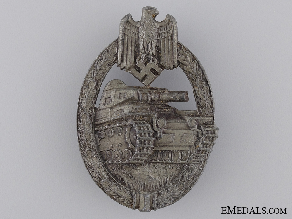 eMedals-A Bronze Grade Tank Badge by Aurich