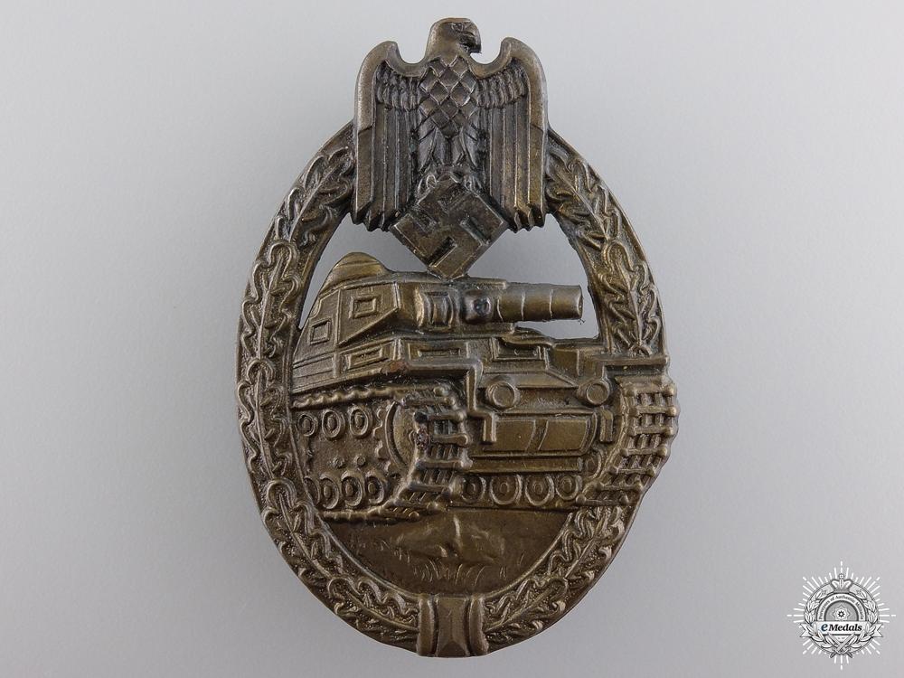 eMedals-A Bronze Grade Tank Badge by Ferdinand Wiedmann