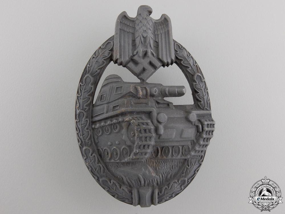 eMedals-A Bronze Grade Tank Assault Badge by Karl Wurster