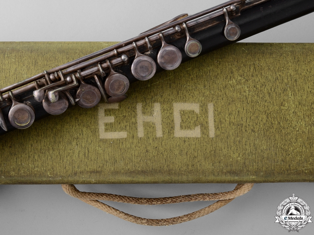 eMedals-A Brunswick SS Flute by F.Arthur Uebel with Case