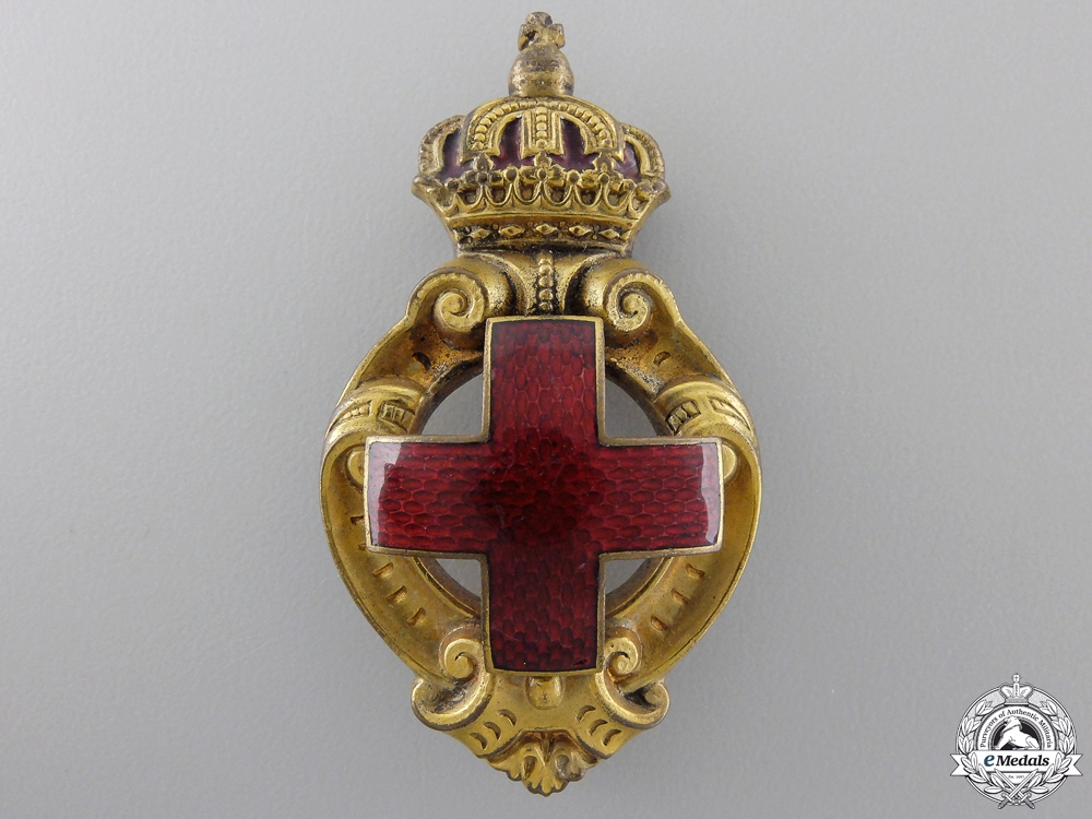 eMedals-A Bulgarian Honour Badge of the Red Cross Society