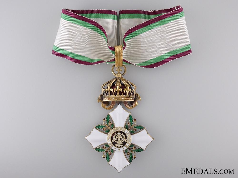 eMedals-A Bulgarian Order of Civil Merit; Commander's Cross