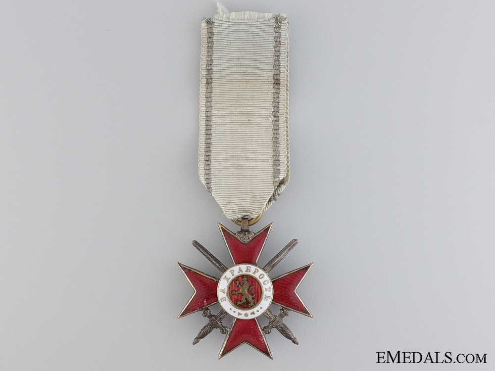 eMedals-A Bulgarian Order for Bravery; Fourth Class