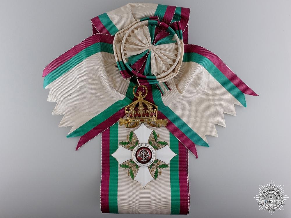 eMedals-A Bulgarian Order of Civil Merit; Grand Cross Badge