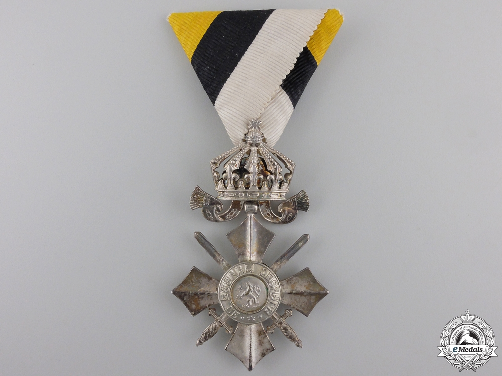 eMedals-A Bulgarian Order of Civil Merit; Sixth Class with Crown 1944-46