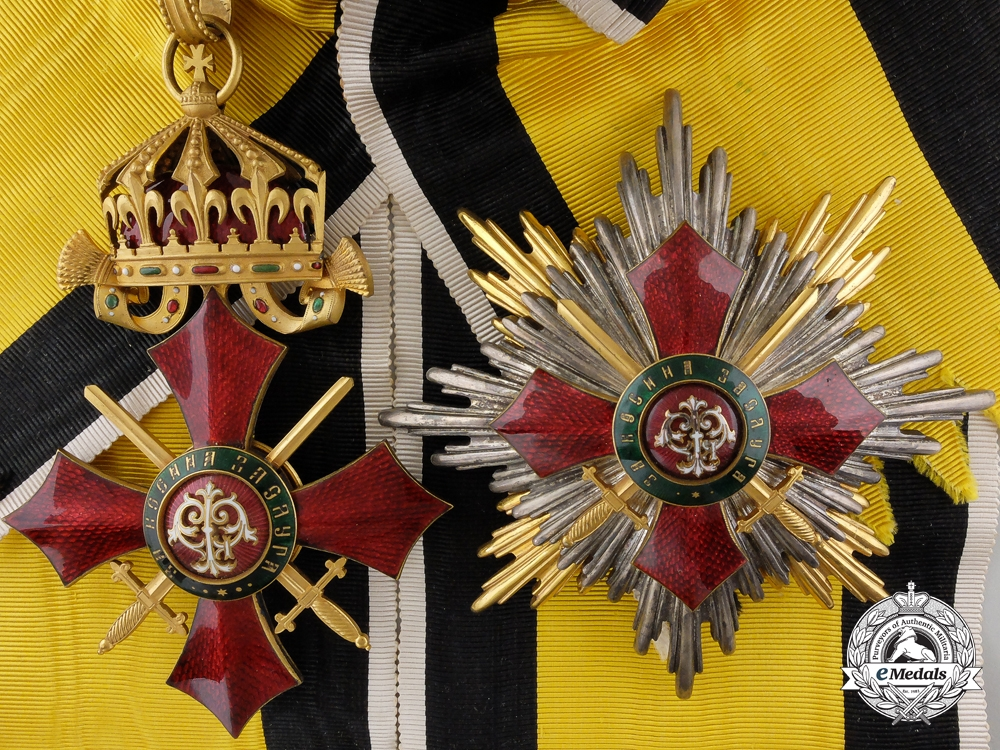eMedals-An Order of Military Merit; Grand Cross by Johann Schwerdtner
