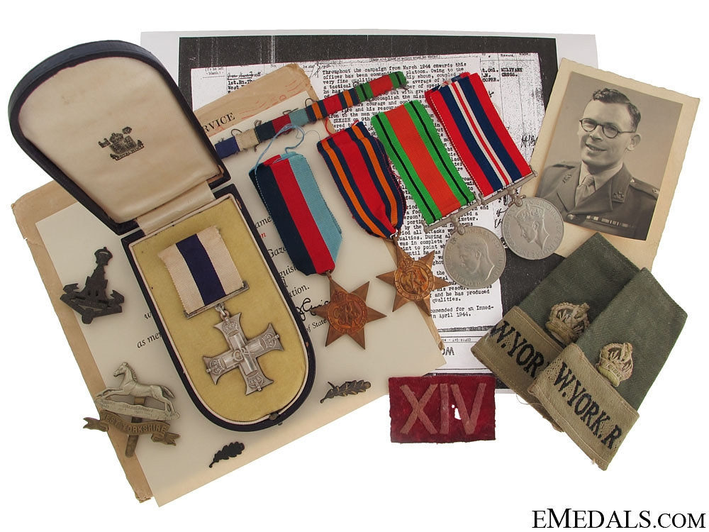 eMedals-A Burma Theatre Military Cross Group