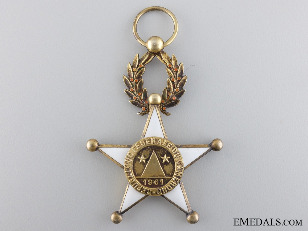 eMedals-A Cambodian Order of Bravery; French Made