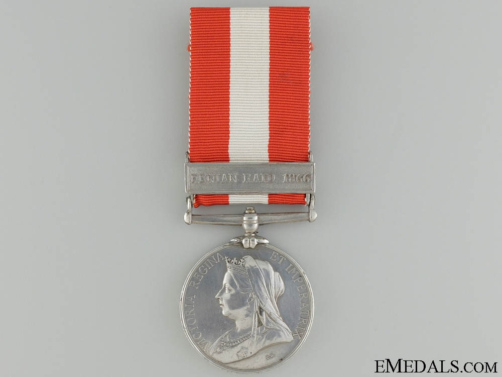 eMedals-A Canada  General Service Medal to the  Quebec Provisional Battalion