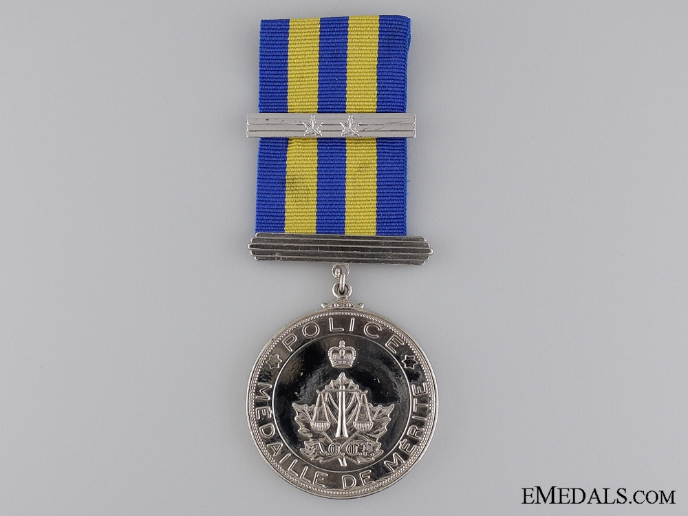 eMedals-A Canadian Association of Chief of Police Service Medal