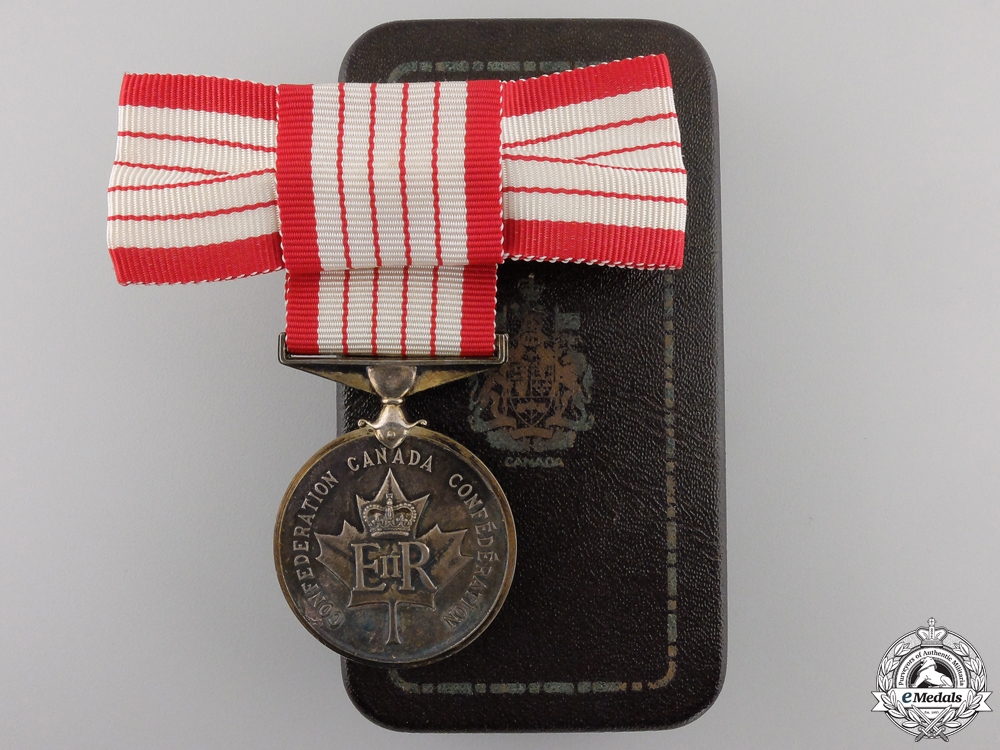 eMedals-A Canadian Centennial Medal 1867-1967 with Case