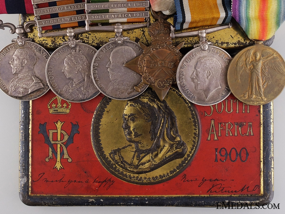 eMedals-A Canadian D.C.M Medal Grouping to a Boer War Veteran