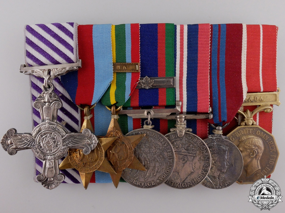 eMedals-A Canadian DFC for Sinking Enemy Vessels in South China Sea  consignment #17  POR $9000