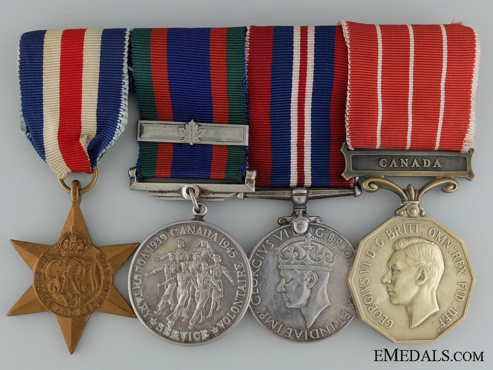 eMedals-A Canadian Forces Decoration to Warrant Officer Meek