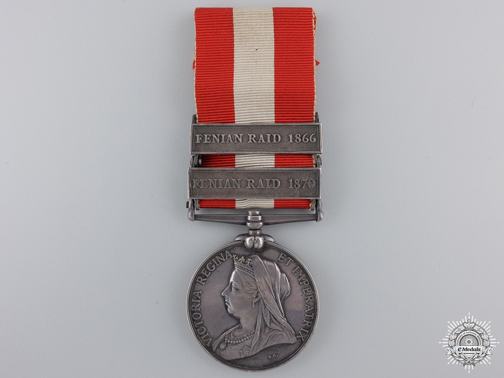 eMedals-A Canadian General Service Medal to the Ottawa Garrison Artillery