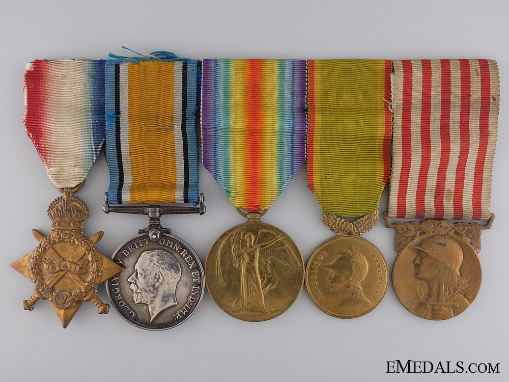 eMedals-A Canadian Group to Q.M. Sergeant Gamelin Demontigny