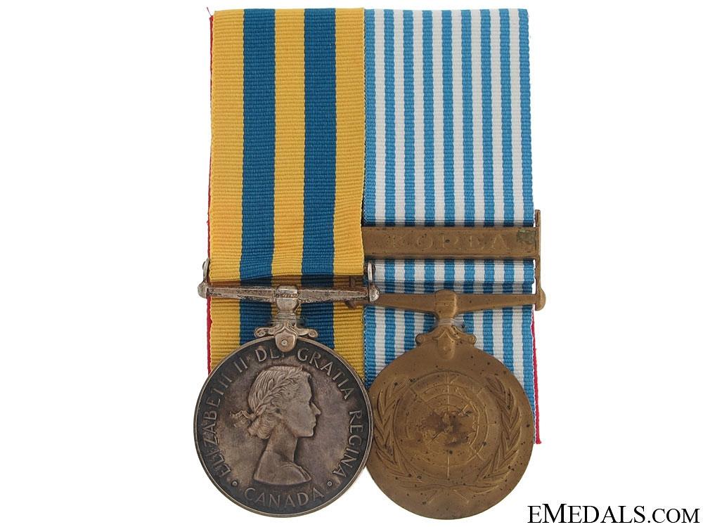 eMedals-A Canadian Korea War Pair