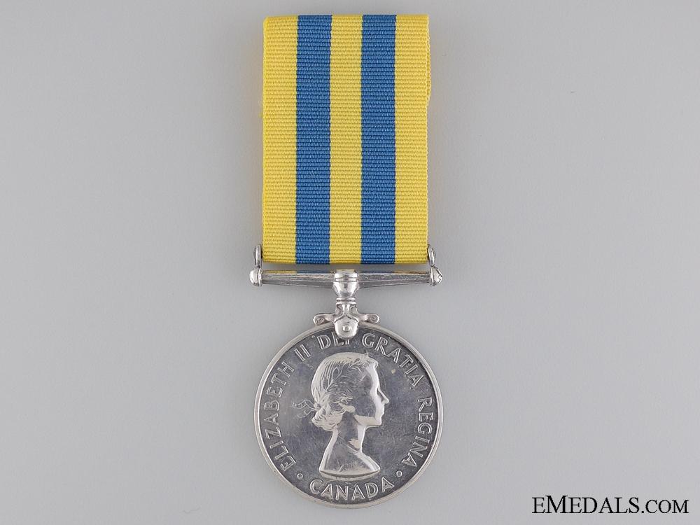 eMedals-A Canadian Korea War Medal to A.J.M. Britt