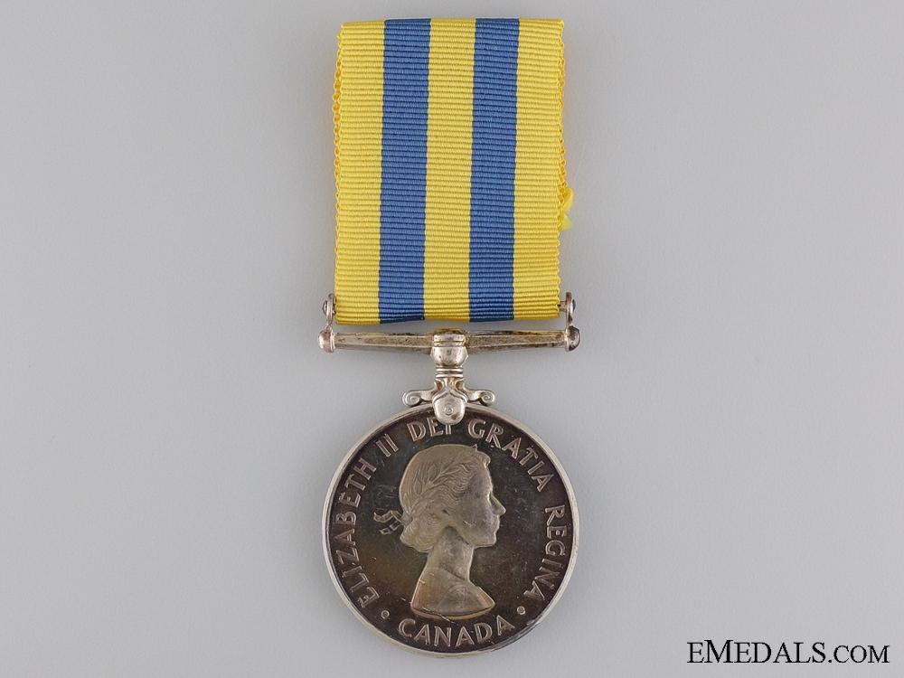 eMedals-A Canadian Korea Medal to L.H. Carter