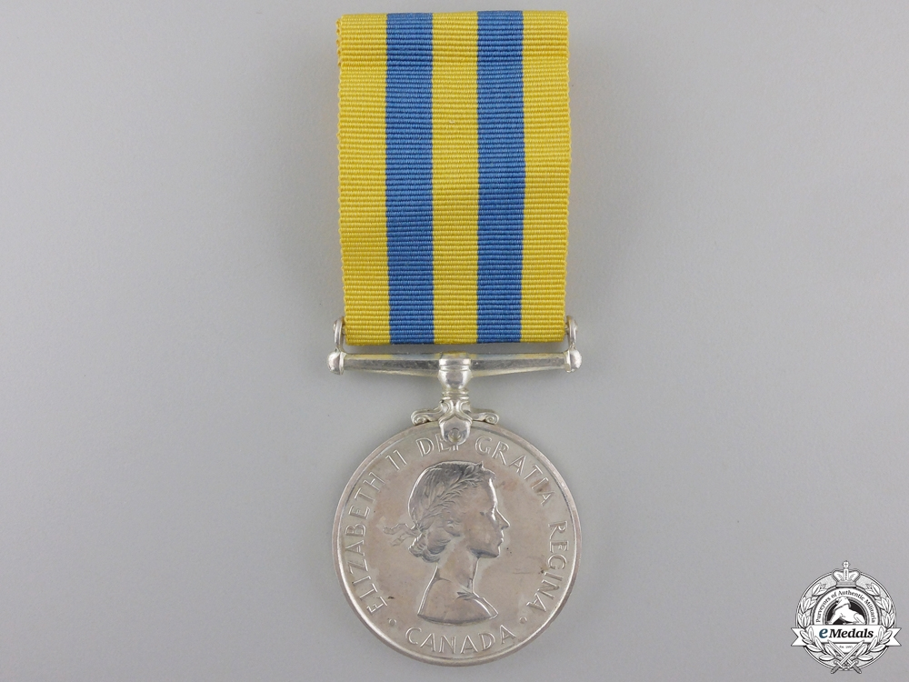 eMedals-A Canadian Korean Service Medal; Unnamed