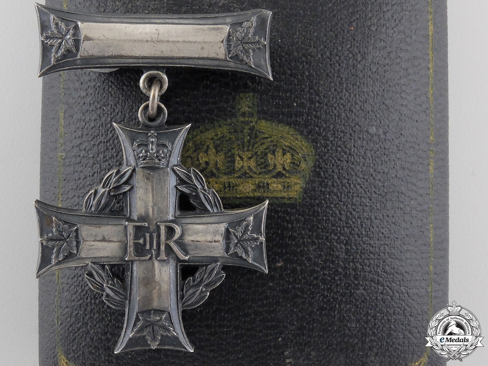 eMedals-A Canadian Memorial Cross of Cpt.McGregor; Military Cross