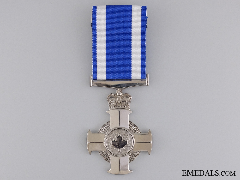 eMedals-A Canadian Meritorious Service Cross