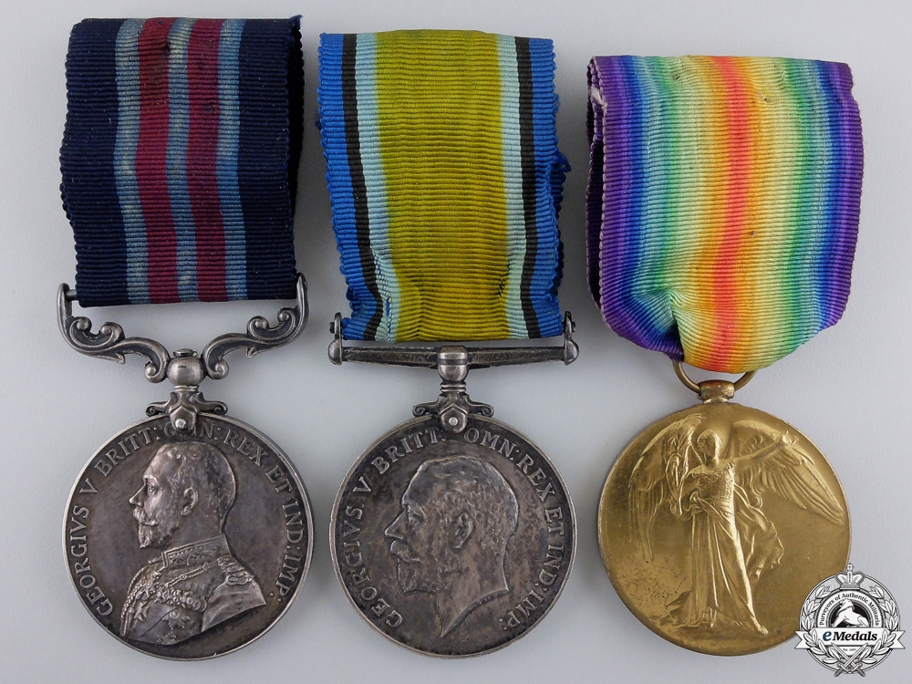eMedals-A Canadian Military Medal for Lewis Gun Action at Passchendaele