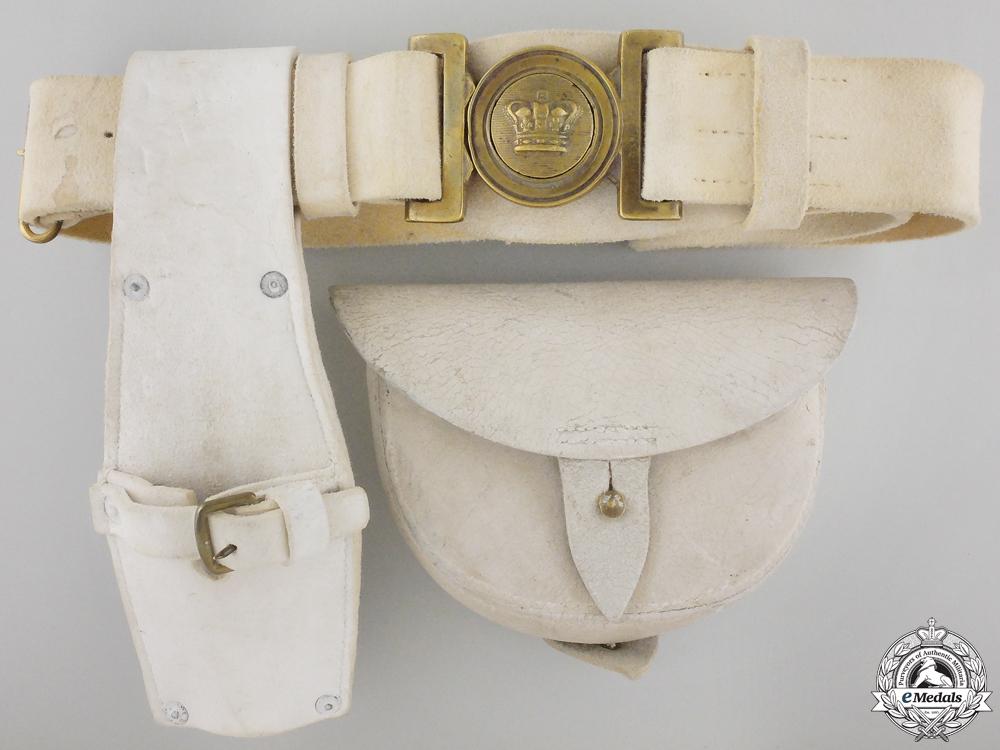 eMedals-A Canadian Militia 1867 Buff Leather Infantry Belt