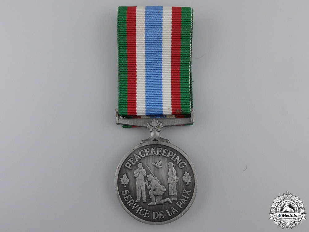 eMedals-A Canadian Peacekeeping Service Medal