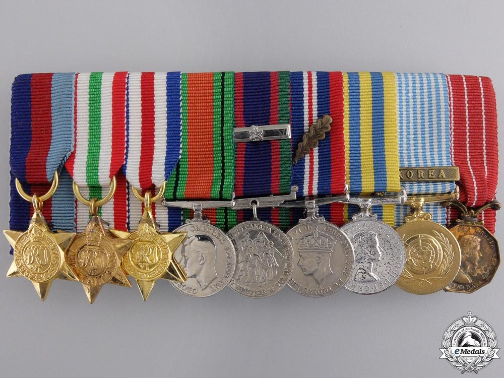 eMedals-A Canadian Second War & Korean Service Miniature Group