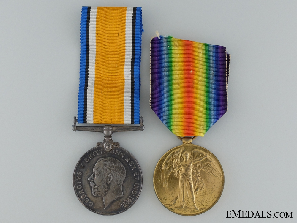 eMedals-A Canadian Siberian Expeditionary Force Medal Pair