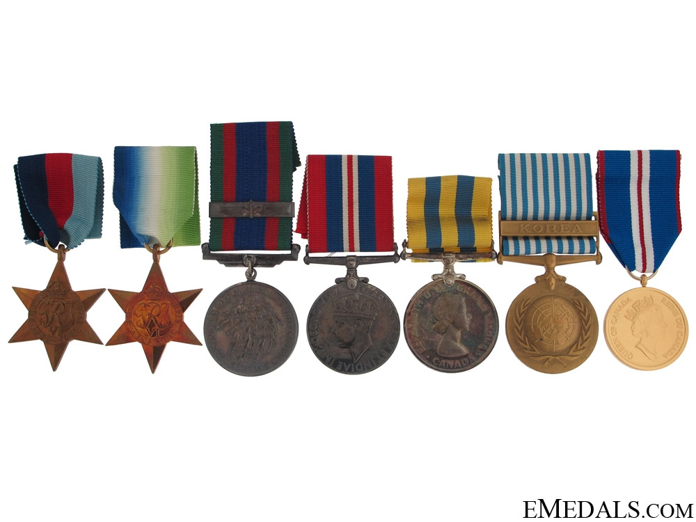 eMedals-A Canadian WWII & Korea Group