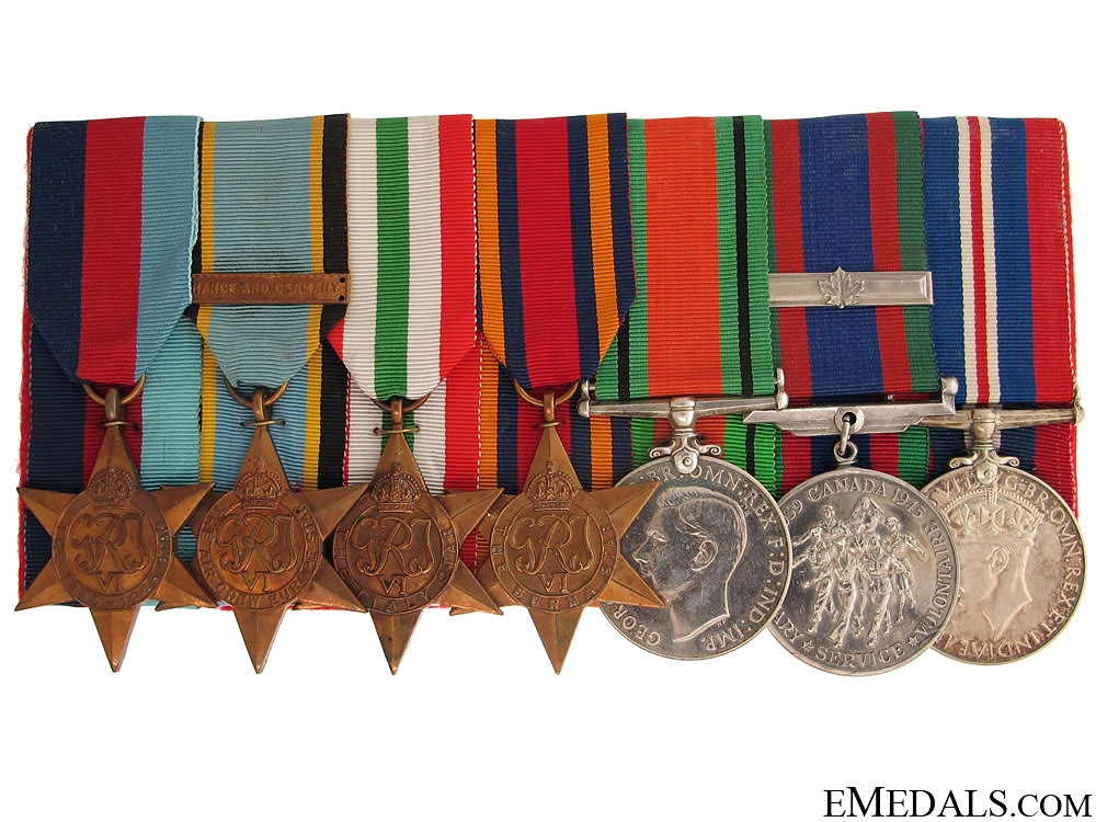 eMedals-A Canadian WWII Air Crew Group