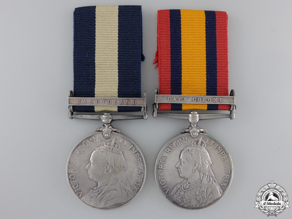eMedals-A Cape of Good Hope South Africa Medal Pair