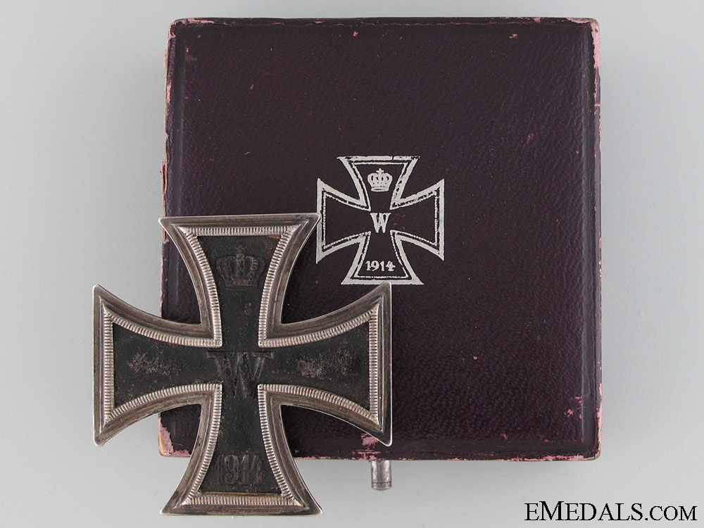 eMedals-A Cased Iron Cross First Class 1914 by Wagner