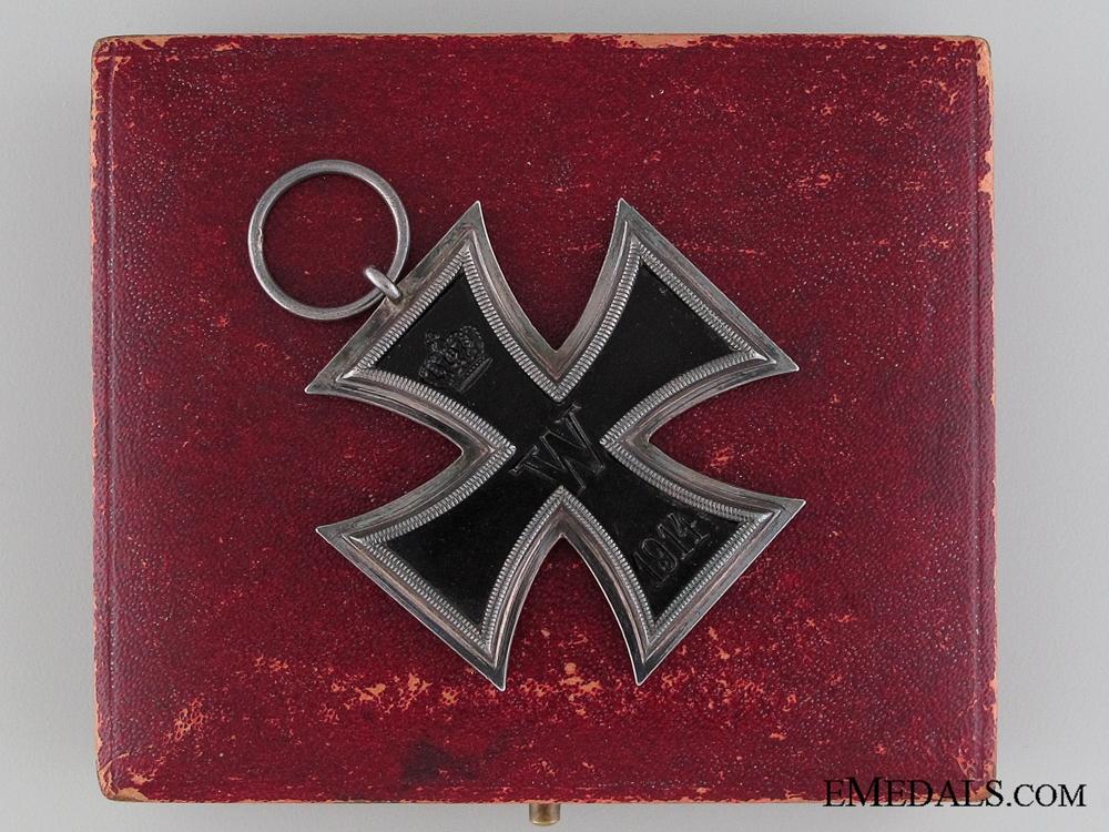 eMedals-A Cased Iron Cross 2nd Class 1914