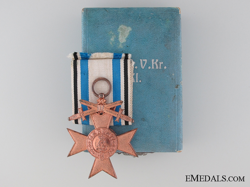 eMedals-A Cased Military Merit Cross - 3rd Class