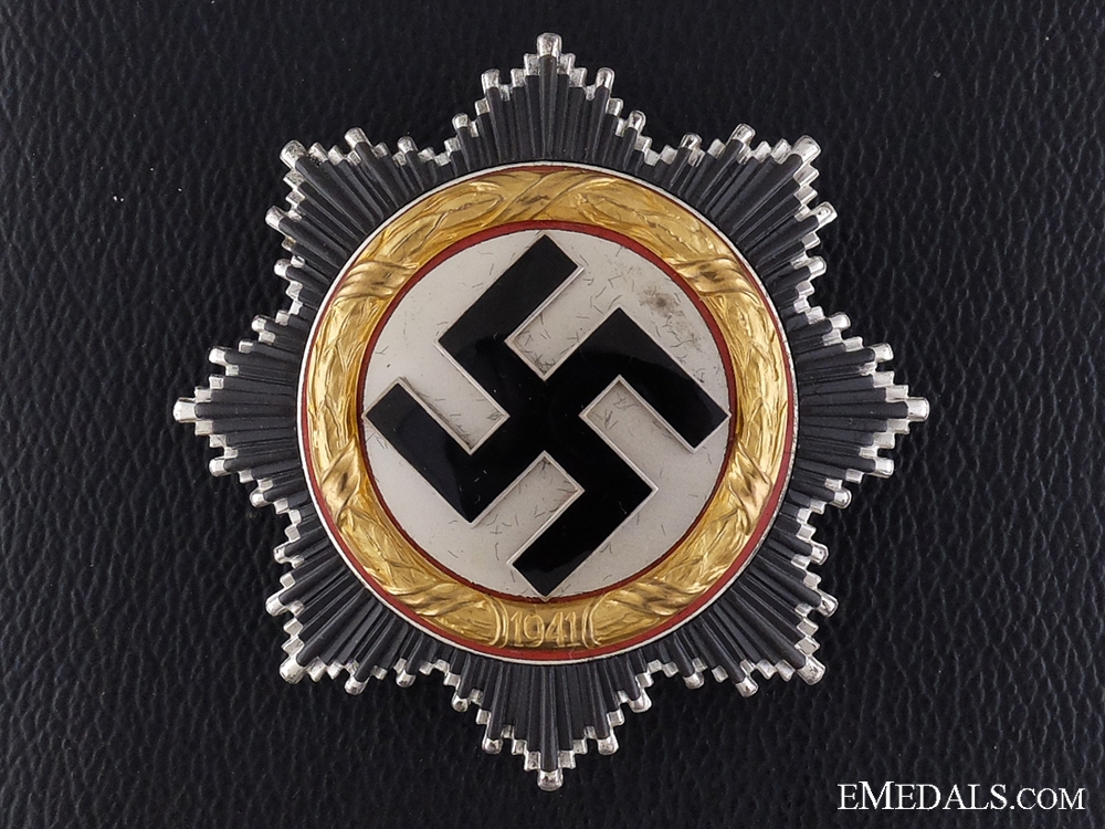 eMedals-A Cased Mint German Cross in Gold by Zimmermann