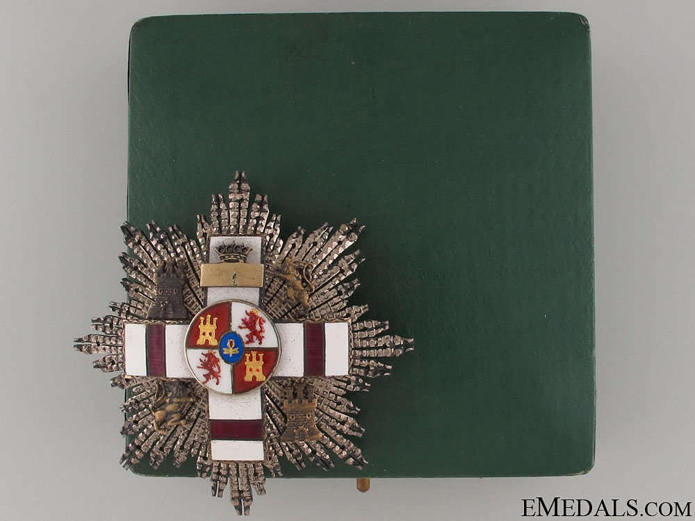 eMedals-A Cased Order of Military Merit with White Distinction