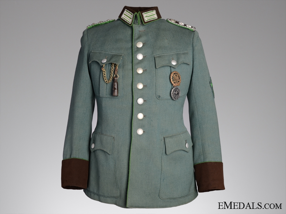 eMedals-A Chief Watch Master Reich Protection Police Tunic