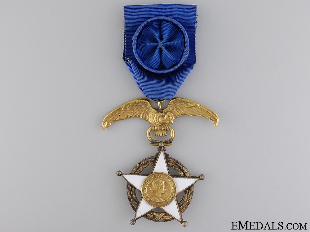 eMedals-A Chilean Order of Merit; Officer