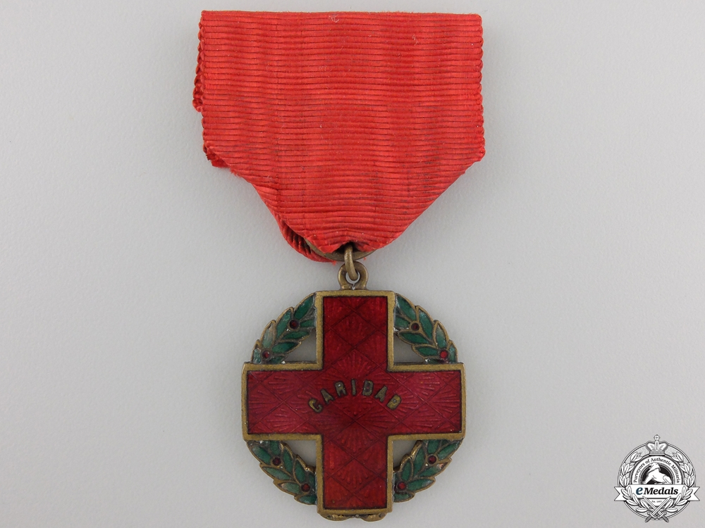 eMedals-A Chilean Red Cross Decoration