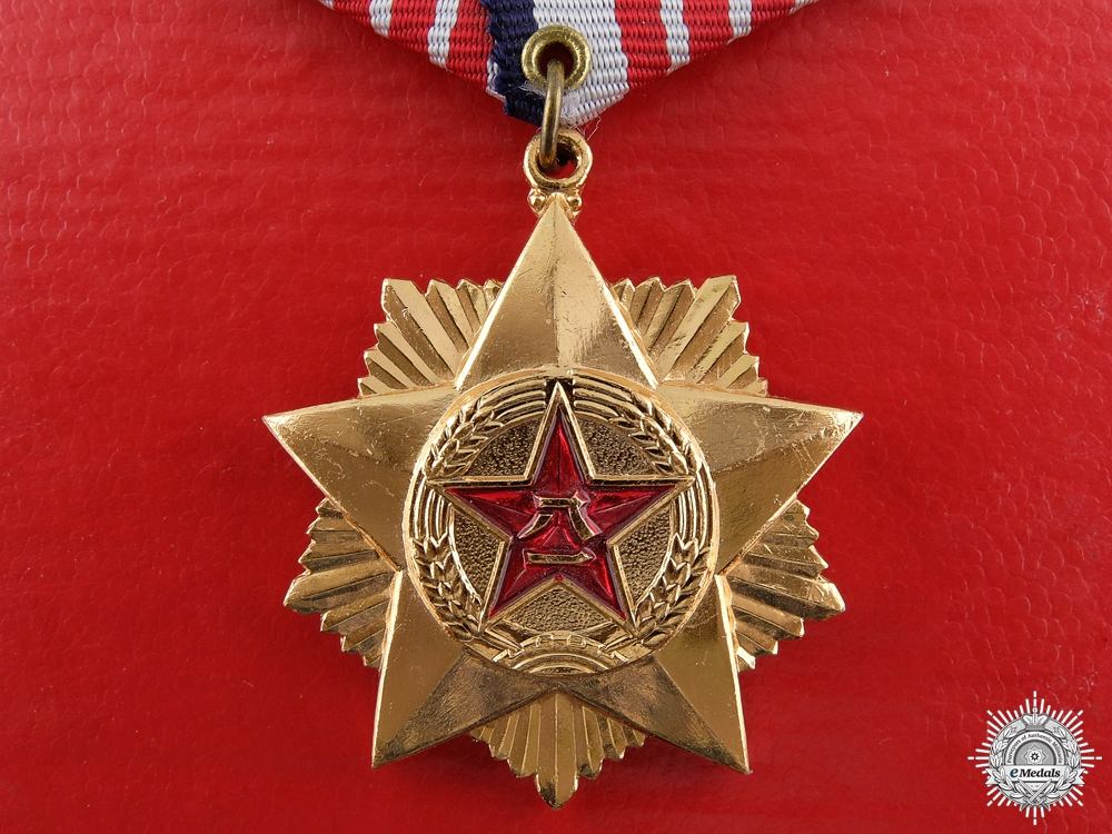 eMedals-A Chinese Meritorious Service Medal; Third Class