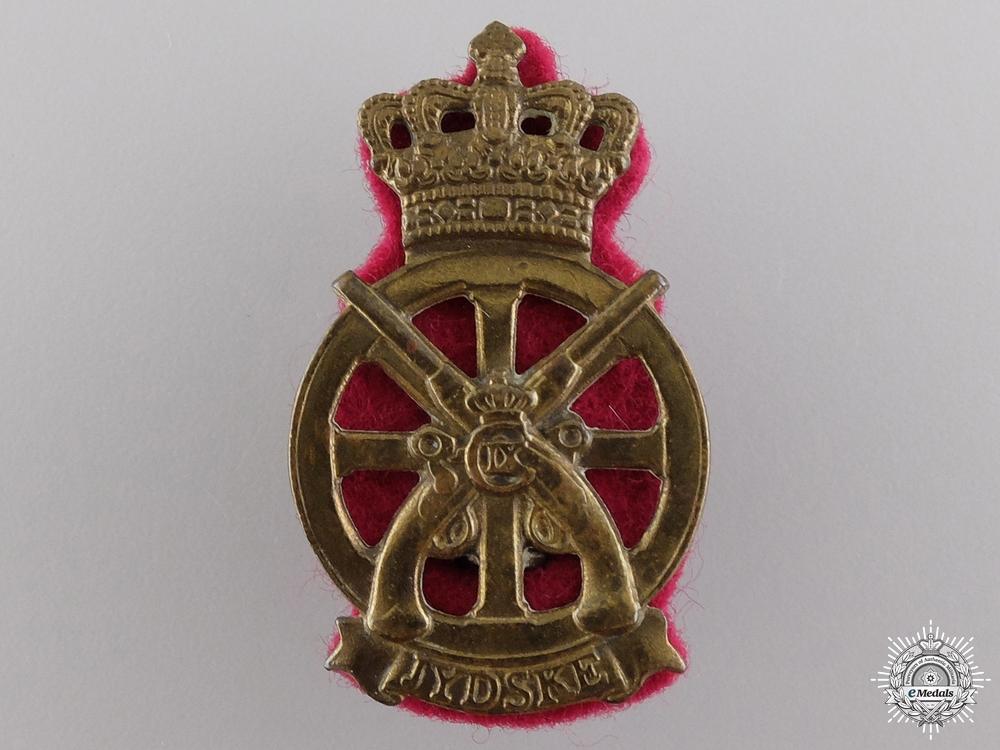 eMedals-A Christian IX Danish Jydske Transport Regiment Cap Badge