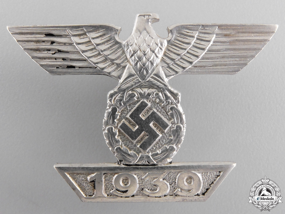 eMedals-A Clasp to Iron Cross First Class 1939 by  B.H. Myer